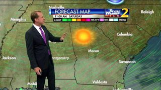 Sunshine, light breeze for Friday afternoon