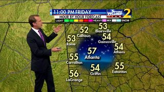 Temperatures to drop throughout the night Friday