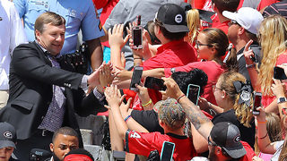 Kirby Smart has made even a dull spring game at Georgia a big deal