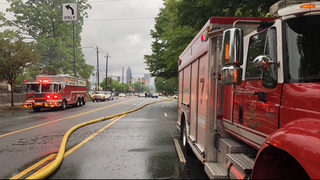 Ponce de Leon Avenue at Highland Avenue reopens after large fire