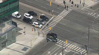 Van hits 8-10 pedestrians in Toronto, police say