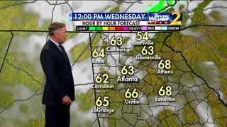 Partly cloudy skies for your Wednesday morning commute