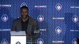 RAW VIDEO: Michael Vick named offensive coordinator of Atlanta's Alliance football team
