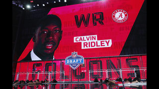Falcons select Alabama WR Calvin Ridley with No. 26 pick in NFL Draft
