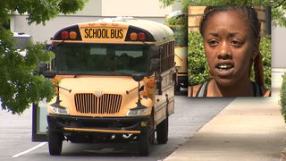 Mother says she was dragged by school bus following dispute with driver
