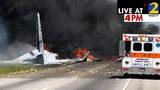 Military plane crashes near Savannah, official say