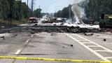 Military plane crash kills 2 near Savannah