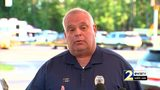 RAW VIDEO: Local police chief gives update on military plane crash in Savannah