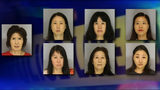 7 women, including a 71-year-old, arrested in massage parlor bust