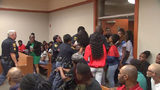 Emotional outburst in DeKalb County court