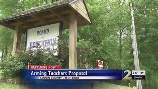 Fannin County to vote on arming teachers tonight