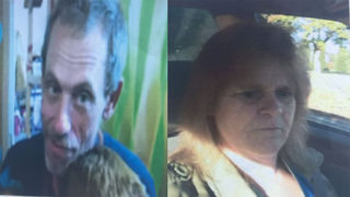 Police arrest couple who disappeared after investigators dug up body near home