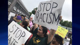 """Channel 2 Action News was there Wednesday as protesters surrounded the """"Deportation Bus."""""""