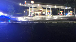 Teen in critical condition after being shot at gas station