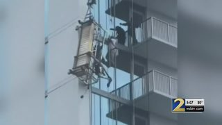 Federal agency to investigate scaffolding collapse that left workers dangling