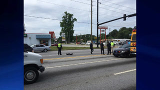 High school student hit by car on way to school