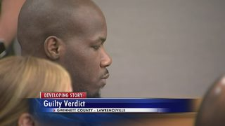 Man guilty on all charges in murder of Gwinnett County man