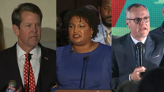 Abrams wins Dem nomination; Kemp, Cagle head to runoff