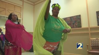 Senior Citizens make waves as they explore belly dancing