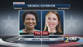 Stacey Abrams wins Democratic primary, seeks to become nation