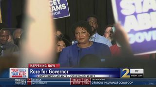Stacey Abrams wins Democratic primary