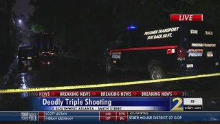 Triple shooting in SW Atlanta leaves one dead