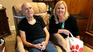 Chick-Fil-A surprises loyal grandparents who became too sick to travel