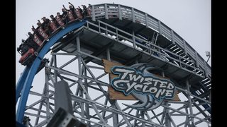 New roller coaster opens at Six Flags