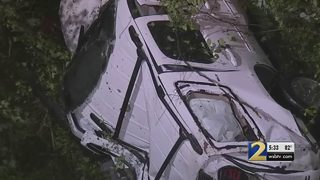 Couple describes moments they say irate driver forced them off road, down embankment