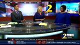 Stacey Abrams in WSB-TV studios