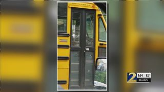 Cellphone video appears to show school bus driver texting and driving