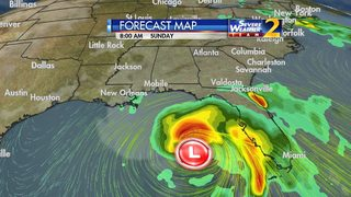 Area of low pressure could become first named storm of 2018