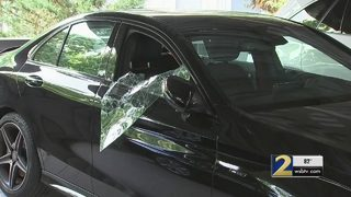 Nearly 30 cars broken into at Atlanta apartment complex in one night