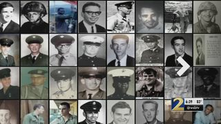Effort underway to put faces, stories to those named on Vietnam Memorial Wall