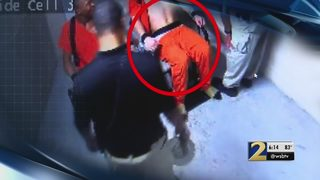 Video shows inmate being Tased while strapped into chair