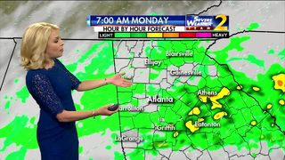 A wet start to the Memorial Day holiday