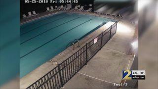 Tweens, teens caught on video causing serious damage to pool, neighbors say
