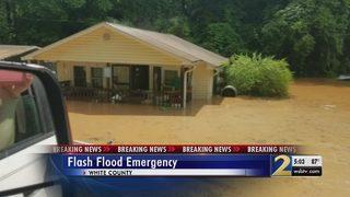 North Georgia under flash flooding emergency
