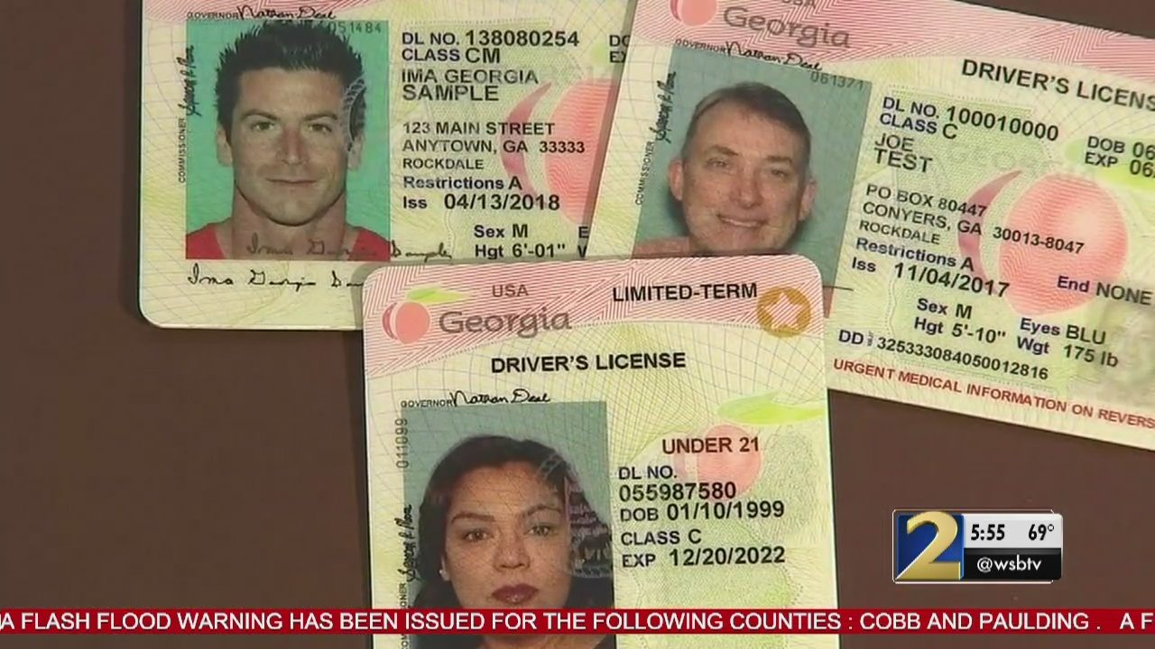 georgia drivers license phone number