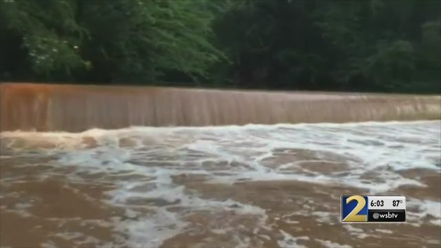 . GEORGIA TEENS MISSING FLOODED WATERS  Day 2 of search for teens in