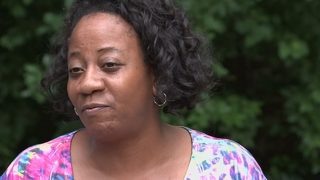 Mother of suspect hit by police patrol car says she