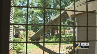 Storm damage in Gwinnett 'equivalent to a EF-1 tornado,