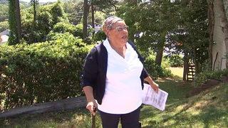 Elderly woman accused of making terroristic threats toward code enforcement inspector