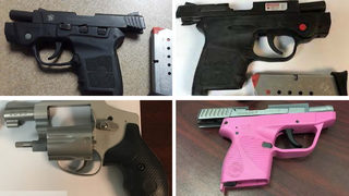 Record-breaking number of guns confiscated from Atlanta airport