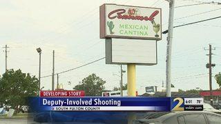 Innocent bystander caught in crossfire of deputy-involved shooting