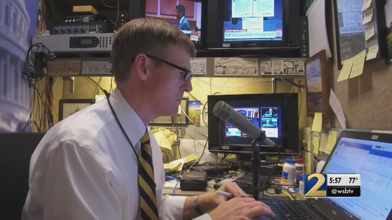 WSB Radio reporter Jamie Dupree returns to air with 2 0