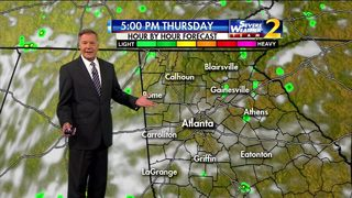 Mostly cloudy skies for Thursday morning