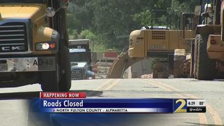 Road-widening project aims to ease traffic in Alpharetta