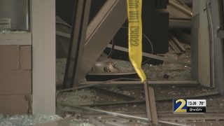 Thieves crash van into CVS, attempts to steal ATM