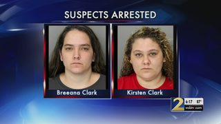 Two sisters accused of violently attacking teens during home invasion